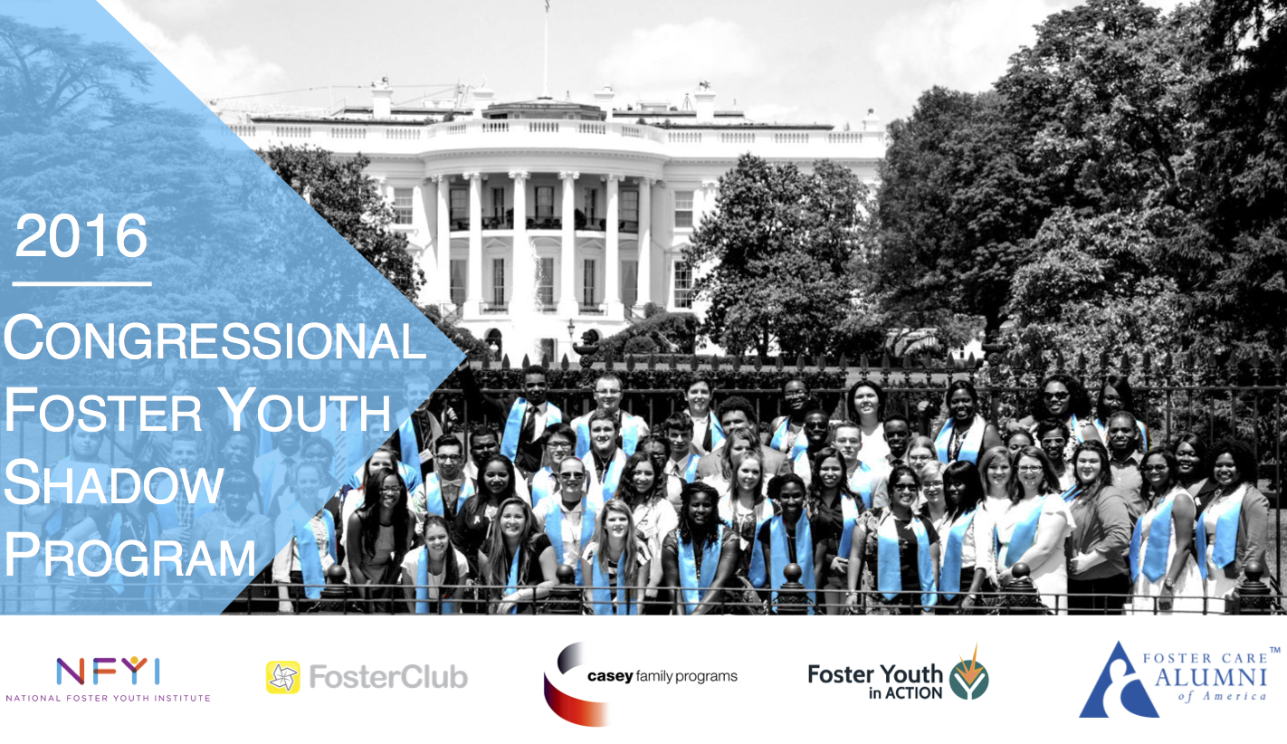 2016 Congressional Foster Youth Shadow Program