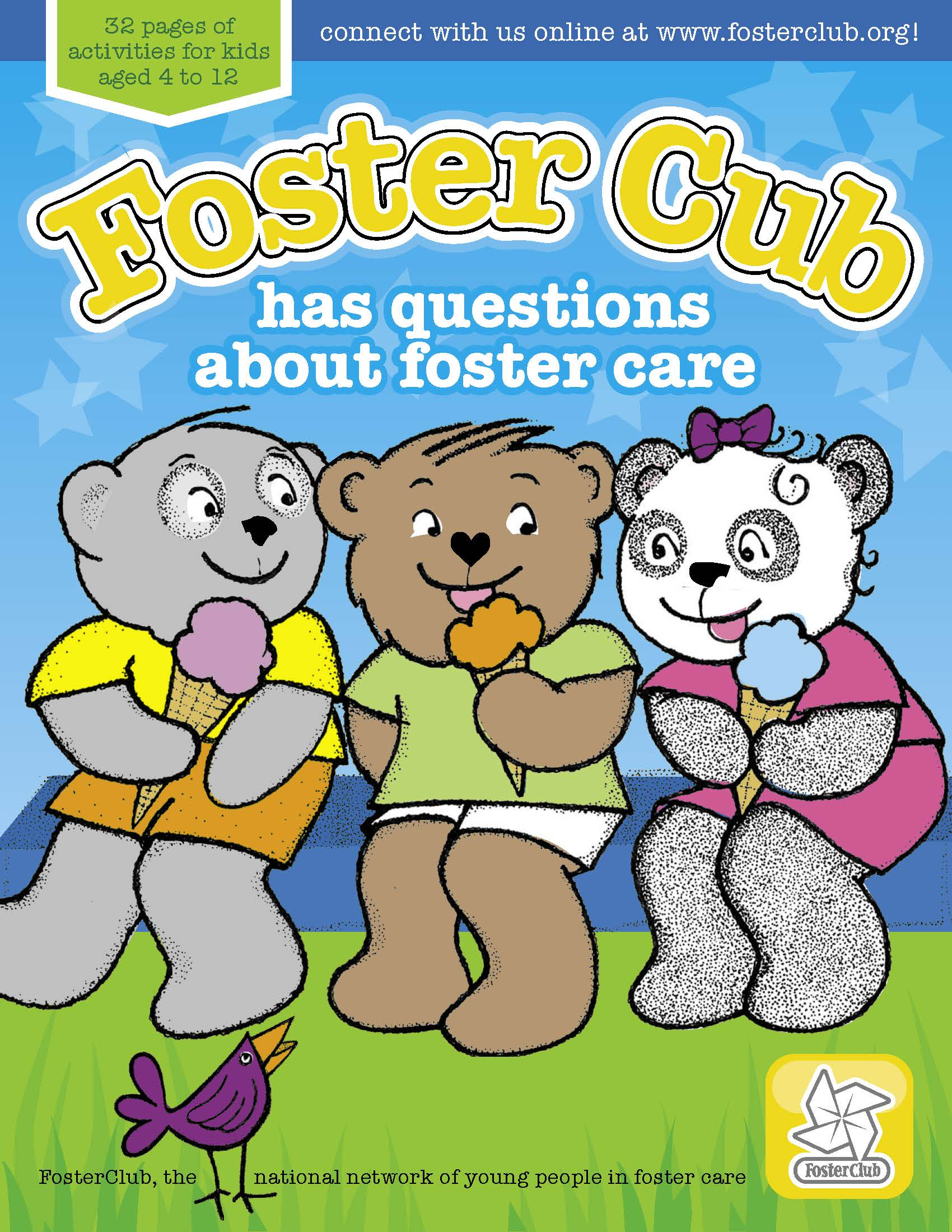 Foster Cub Coloring Book