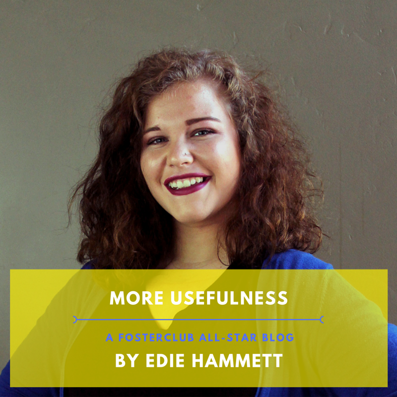 Edie's blog: More Usefulness