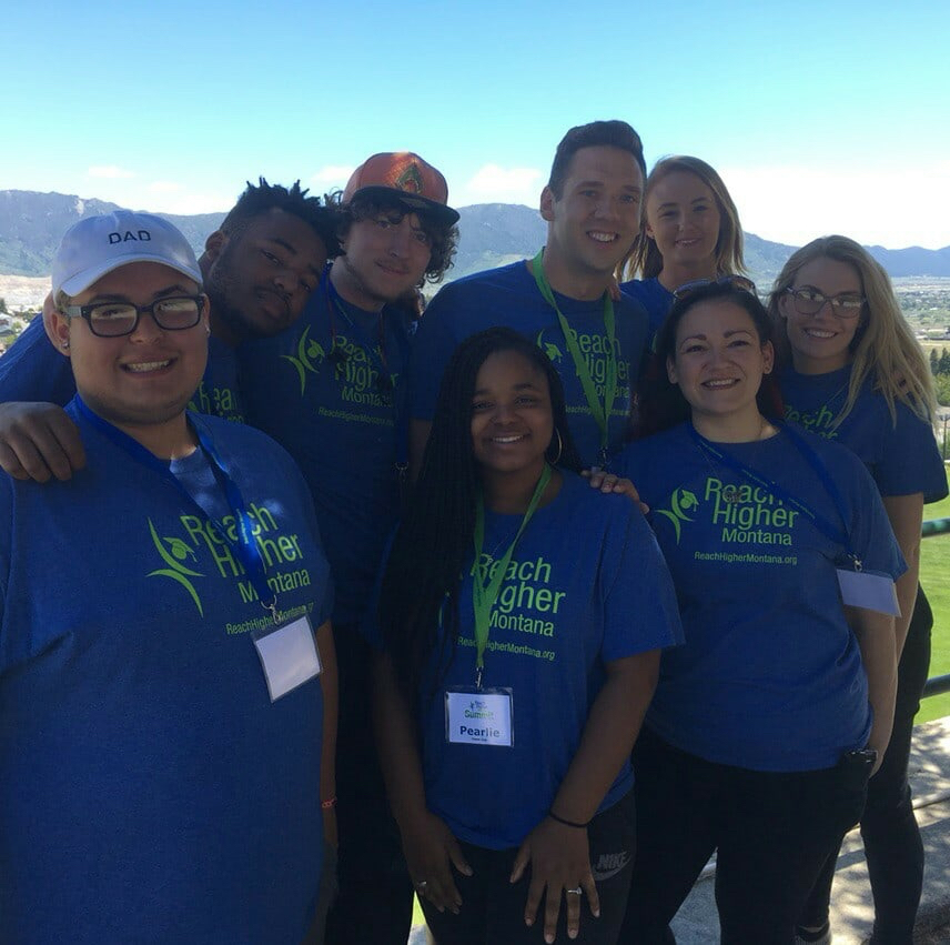 Reach Higher Montana Youth Summit with FosterClub