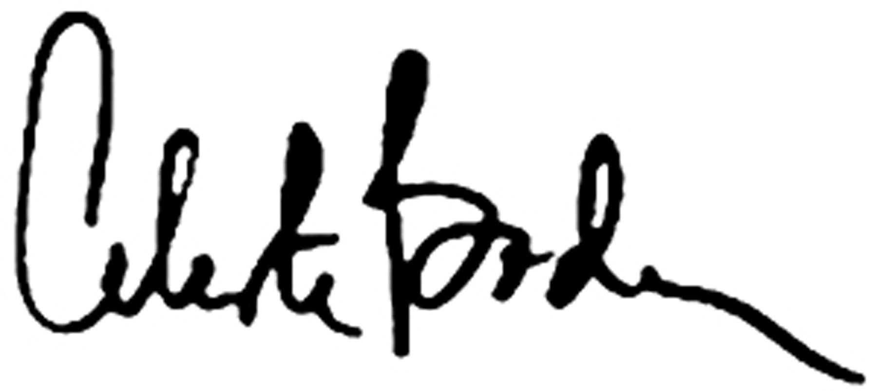 Celeste Bodner Signature
