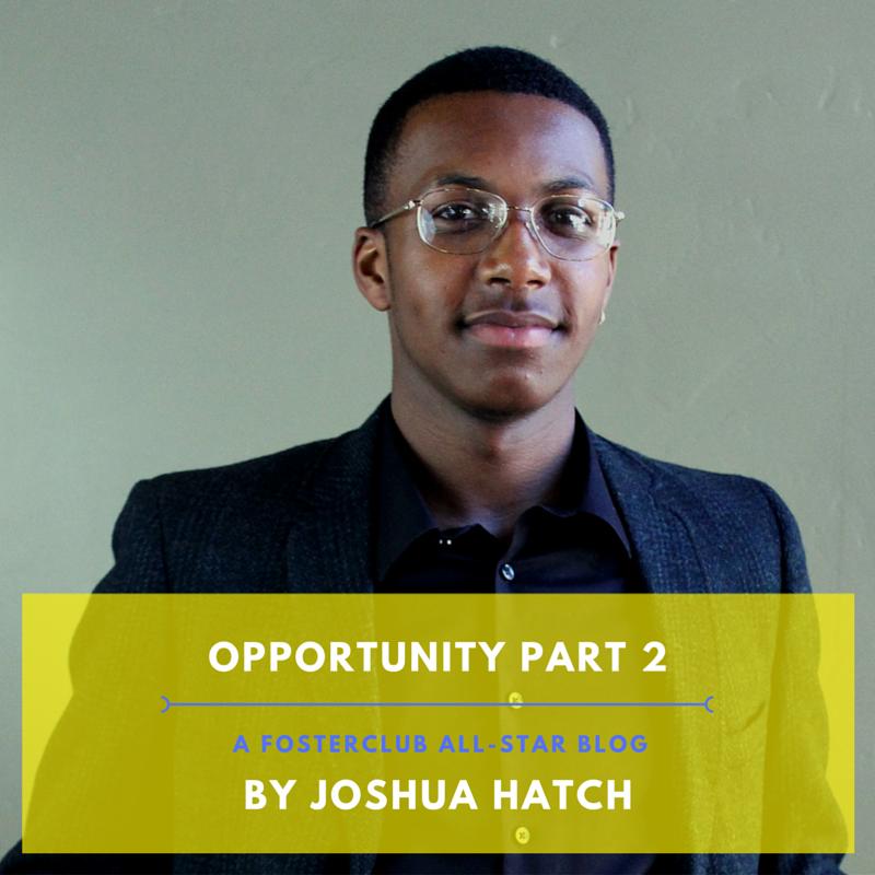 Joshua Hatch 2016 All-Star Blog, Opportunity pt.2