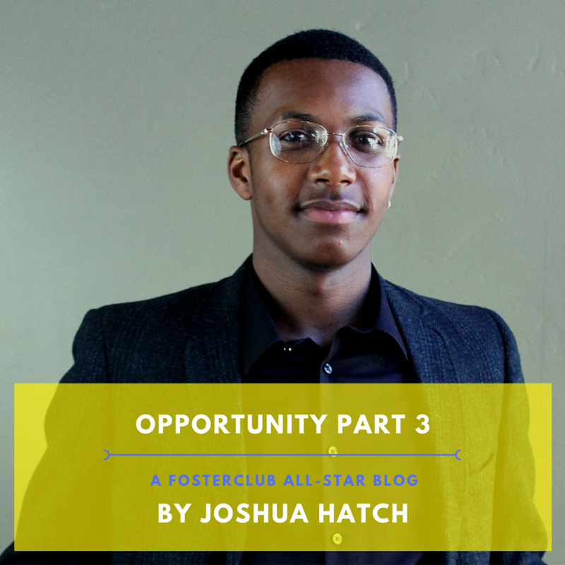 Joshua Hatch 2016 All-Star Blog, Opportunity pt.3